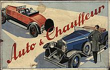 [Games and toys]. Auto und Chauffeur. N.pl. (Germany), n.publ., n.d. (±1930