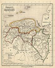 [Atlases]. Cohen, L.A. F.C. Brugsma's Atlas van het Koningrijk der Nederlan