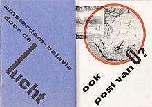 Zwart, P. [P.T.T.]. Ook post van U? Amsterdam - Batavia door de lucht. (BAC