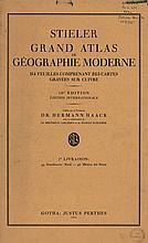 [Atlases]. Stieler, A. Grand Atlas de Géographie Moderne. Ed. H. Haack a.o.