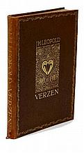 Leopold, J.H. Verzen. Rott., W.L. & J. Brusse, 1913, 1st trade-ed., 140,(2)