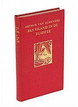 Schendel, A. van. Een eiland in de Zuidzee. Arnhem, Hijman, Stefert Kroese