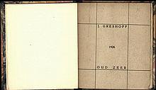 Greshoff, J. Oud zeer. Gedichten. Baarn, n.publ., 1926, 1st ed., 35,(1)p.,