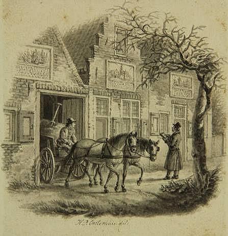 Oosterhuis, H.P. (1784-1854). (A draughtsman