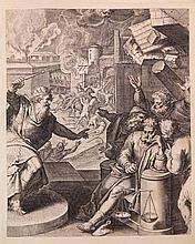[Emblemata]. Vaenius, O. Quinti Horatii Flacci emblemata. Antw., P. Lisaert
