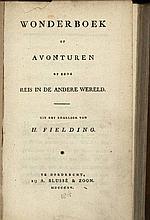 Fielding, H. Wonderboek of Avonturen op eene reis in de andere wereld. Dord