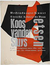 Sluys, K. van der (1920-2005). Lot of 28 exhibition posters, Mostly etching