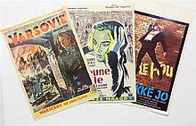 [Posters. Cinema]. Lot of 80 movie posters, ±1950-1975 (mostly 1950' and 60