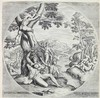 Galle, P. (1537-1612). The four ages. Series of four circular engravings af, Philip Galle, €7,000
