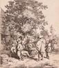Ostade, A. van (1610-1685). The fiddler and the hurdy-gurdy boy. Etching, 1, Adriaen Jansz. Van Ostade, €1,000