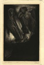 """Aarts, J.J. (1871-1934). Marionetten. Lithograph, (1927), 33x21,3 cm., signed """"J.Aarts"""" and """"proefdr"""