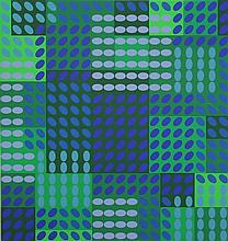 """Sanders, H.B. (1929-2010). """"Pyama zonder foutje"""". Colour silkscreen, 47x62,2 cm., signed """"Har Sander"""