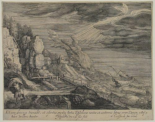 Passe, Magdalena de (1600-before 1640). Sea-shore,