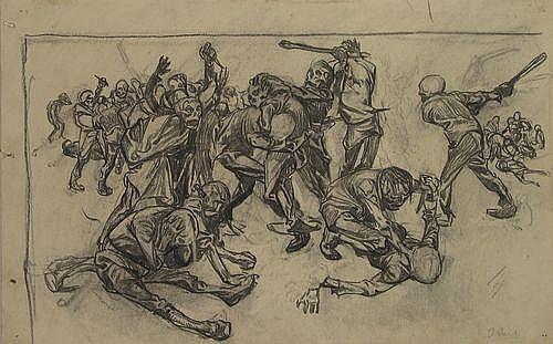 Aarts, J.J. (1871-1934). De strijd van de doden.