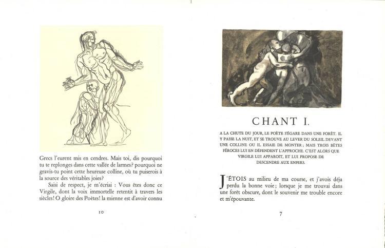 Dante Alighieri Lenfer Poème Du Dante Lyon Cercle Lyonn