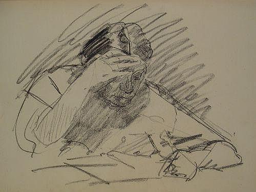 Derkzen van Angeren, A.P. (1878-1961). Sketchbook,