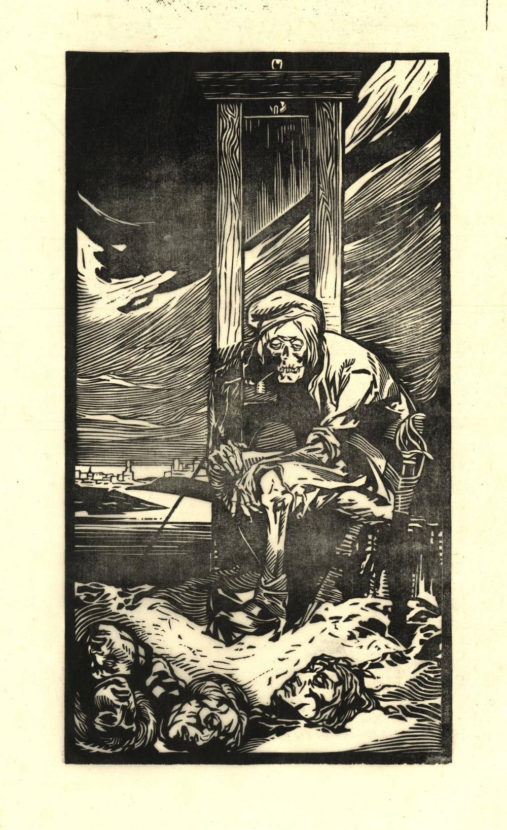 Aarts, J.J. (1871-1934). Danse macabre - Egalité.