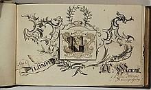[Alba amicorum]. Album amicorum of Benjamin