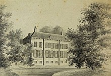 Anonymous (19th cent.). (Watervliet, near Velsen).