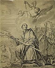 Anonymous (early 18th cent.). (Carolus Borromeus).