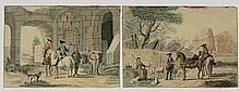 Aartman, N.M. (1713-1793). (Two horsemen