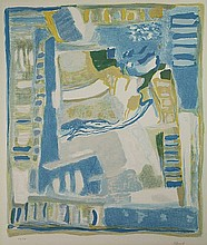 Abboud, C. (1926-2004). (Untitled composition).