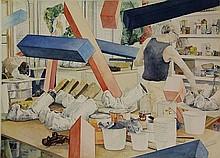 Gordijn, A. (b.1947). In de werkplaats van Claes
