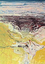 Bohemen, C.B. van (1928-1985). (Landscape). Col.