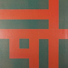 Blotkamp, C. (b.1945). (Geometrical composition).