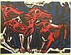 Rozendaal, W.J. (1899-1971). Honden in rood. Col., Willem Jacob Rozendaal, Click for value