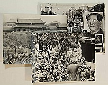 [China]. Lot of 26 orig. press photographs, each