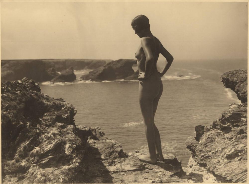 Beach vintage nude Amateur nudist