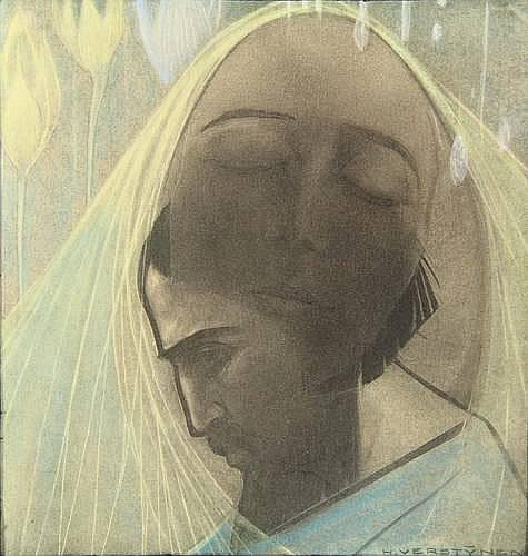 Verstijnen, H.C.G.M. (1882-1940). (Christ and Mary