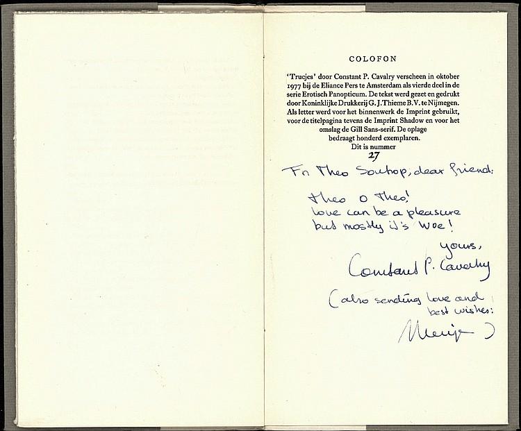Eliance Pers Cavalry Cp Mensje Van Keulen Trucjes