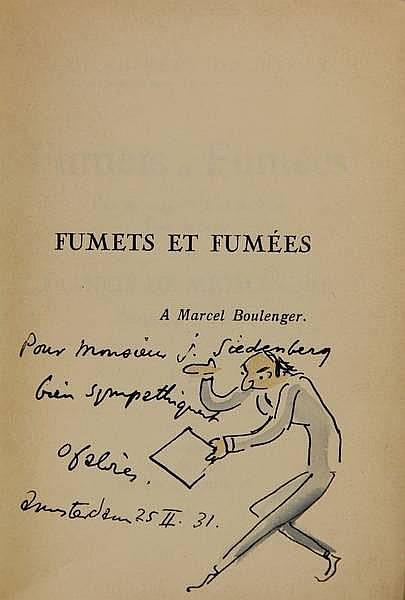 [Fabrès, O.]. Miomandre, F. de (= F. Durand).