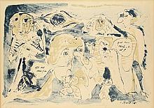 Alechinsky, P. (b.1927).