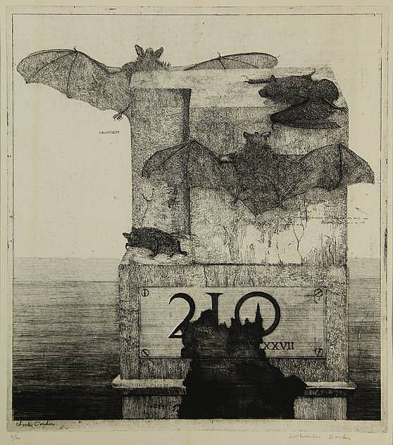 Donker, K.C.M. (b.1940). Vleermuizen in