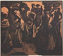 Aarts, J.J. (1871-1934). Dames in de regen.