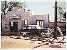 """Gordijn, A. (b.1947). """"Wilson Garage. Wrecker"""
