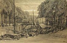 Arntzenius, F. (1864-1925) (attrib.). (Streetscene