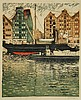 Bormann, E. (1887-1974). (Harbour in Hamburg)., Emma Bormann, Click for value