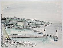 Andréa, K. (1914-2006). (A small French harbour