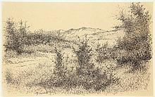 Minderman, W. (1910-1985). (Bij de watertoren).