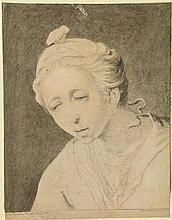 Noorde, C. van (1731-1795). (Portrait of a woman).
