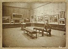 Breitner, G.H. (1857-1923). (Breitner posing
