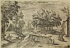 Collaert I, H. (1566-1628). View of Klein, Johannes (1566) Collaert, Click for value