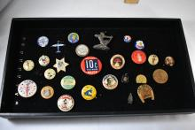 Vintage Buttons, Some Political