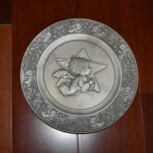 Pewter Novelty Plate