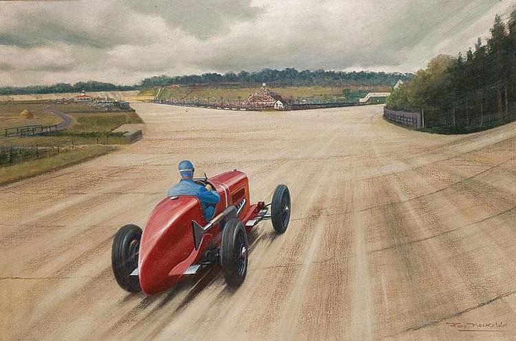 Sporting Memorabilia: Roy Nockolds (1911-1978)