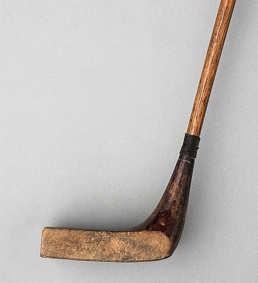 Ernest Sales of Sunningdale Gassiat-type putter circa 1928, with pist